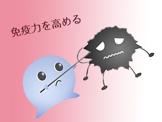 免疫が細菌を攻撃
