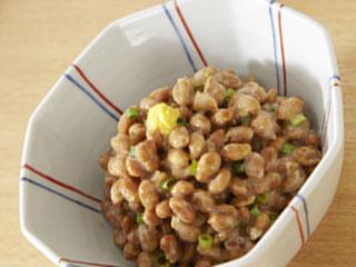 納豆ねぎの小鉢