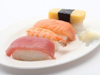 お寿司とガリ