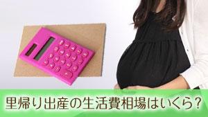 【里帰り出産の生活費】相場はいくら?夫と実家へ渡すポイント8つ