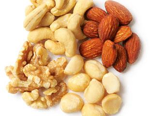 木の実が数種類少量