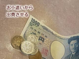千円札と硬貨数枚