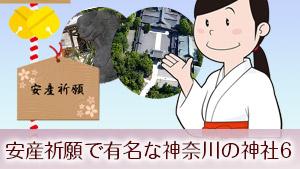 安産祈願で有名な神奈川の神社!水天宮/性別占いお守り