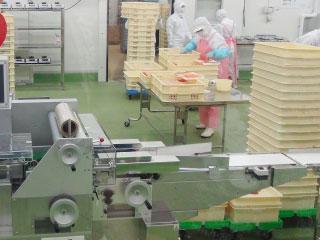 工場の生産ライン