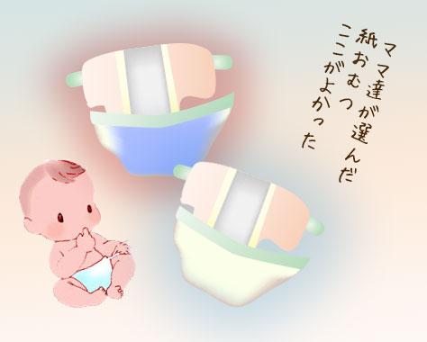 【紙おむつランキング】おすすめのオムツメーカー口コミ13