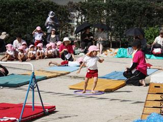 保育園の運動会