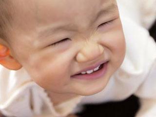 鼻がむずい赤ちゃん