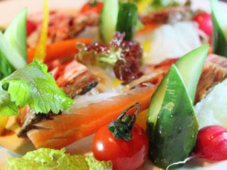 サラダぶつ切り野菜