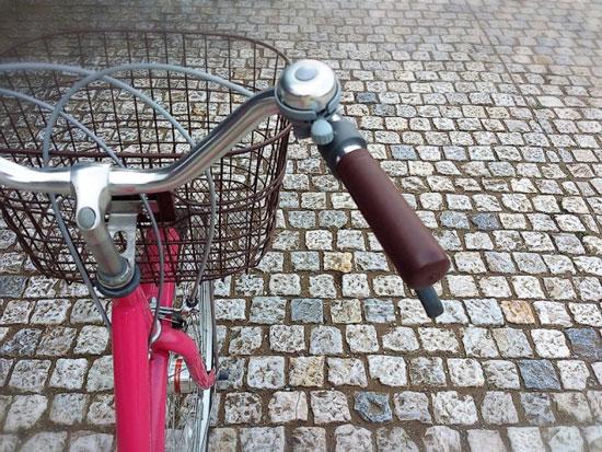 自転車をやめて歩いて消費カロリーアップ!