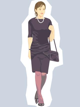 お葬式の服装のポイントはマナー違反の無い小物選び