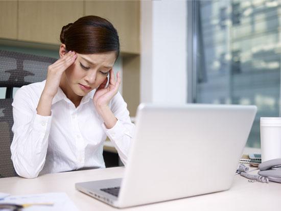 仕事環境の人間関係は体調に大きく影響する
