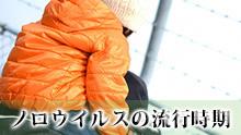【ノロウイルス流行時期】冬に多い理由/春や夏は大丈夫?