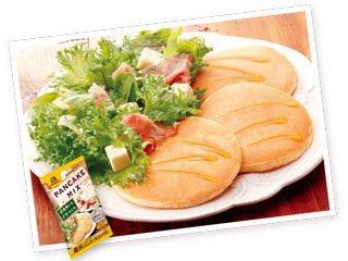 森永パンケーキミックス600g(150g×4袋)