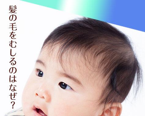 赤ちゃんが髪の毛をむしるのはストレスが原因?癖の改善法