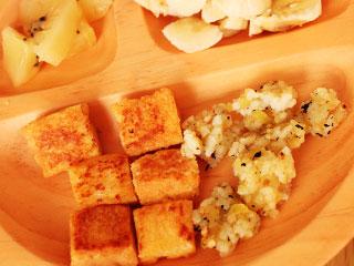豆腐の離乳食
