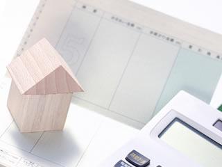 通帳や家など資産をデフォルメ化した画像