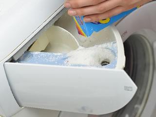洗剤にこだわったクッション洗濯方法