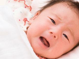 生後数ヶ月の赤ちゃん