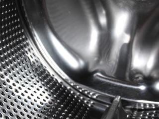 金属でできたカビ臭い洗濯槽