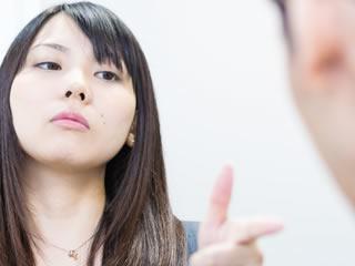 旦那に離婚を突きつける女性