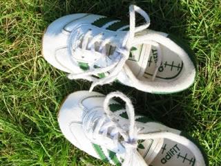 子供の足の臭いが移ったくさい靴