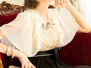 Dorry Doll(ドリードール) 衿フリルボレロ