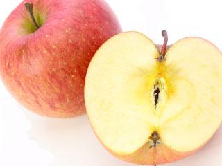 カットされたりんご