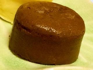 子供と作った手作りのミニチョコケーキ