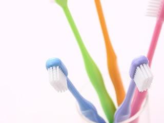 お風呂の狭いところも洗える歯ブラシ