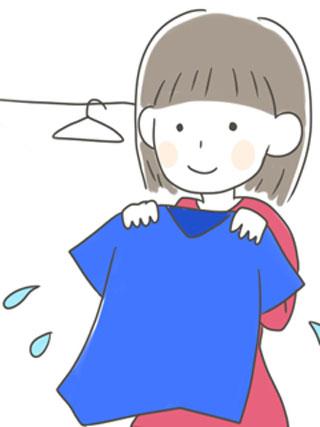 洗濯物は干す時点で分けると効率的