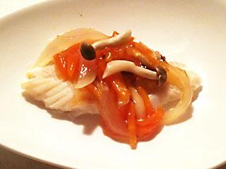 白身魚のあんかけ