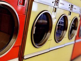 大きめの洗濯物も洗える便利なコインランドリー