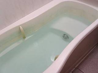 これから洗濯機で使われるお風呂の残り湯