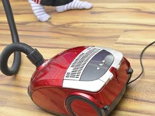 フローリングの掃除には必需品の掃除機