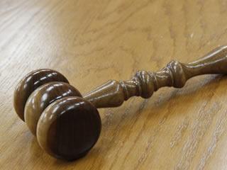 離婚裁判に使われるハンマー