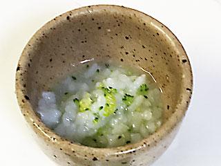 ブロッコリー粥