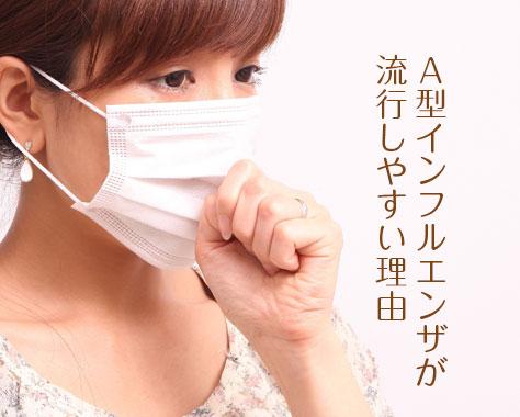 A型インフルエンザ4つの特徴と症状/変異/早く治す方法
