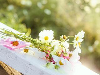 記念日に夫からプレゼントされた花束
