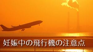 【妊娠中の飛行機】国内/海外旅行の注意12/検査/気圧