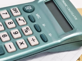 給料計算や家計の管理に使われる計算機