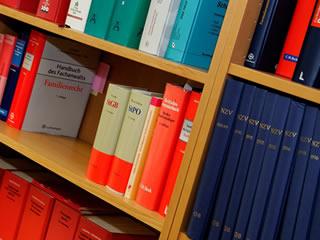 離婚調停に関する知識が詰まった法律関係の書籍