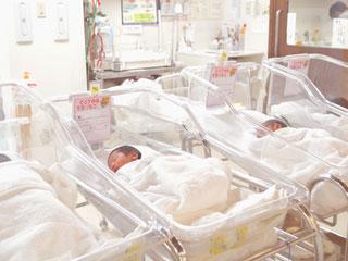 新生児部屋