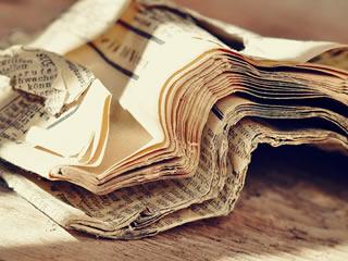 掃除や節約に使える新聞紙