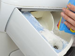 洗濯機の洗剤入れに入れる柔軟剤