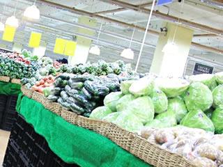 スーパーでセール品対象になっている野菜