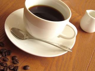 話し合いの場に出されたコーヒー