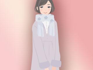 軽量素材のコート