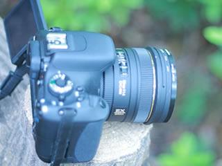 プロも使用する一眼レフカメラ