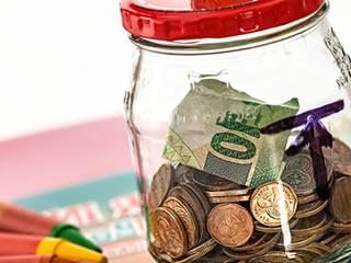倹約生活で貯金に使った貯金箱