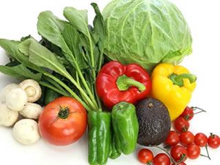 週末のまとめ買いで購入された一週間分の野菜
